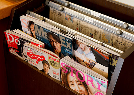 image:Magazine area